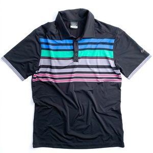 Nike Golf Men's Dri-Fit Polo Shirt Medium Black